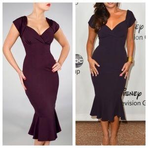 Stop Staring Aubergine Lula Dress - NWT- 2X